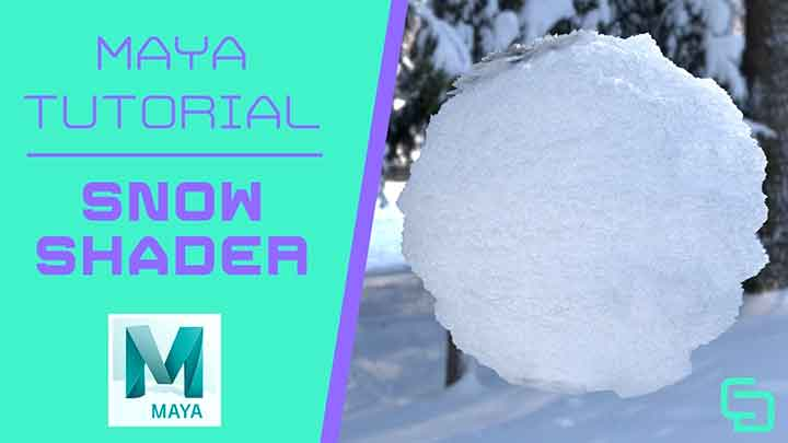 How to Make a Procedural Snow Shader With Arnold in Maya