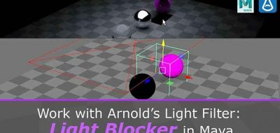 Working With Arnold Emissive Shaders and Mesh Lights