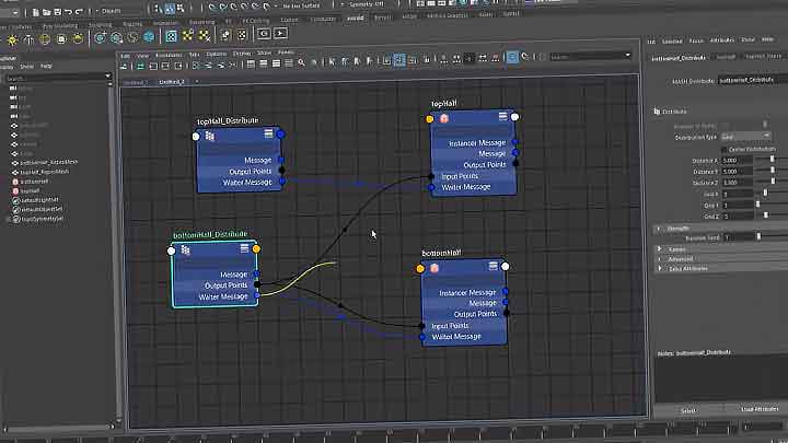 How to Use the Node Editor to Set Up MASH Networks in Maya - Lesterbanks