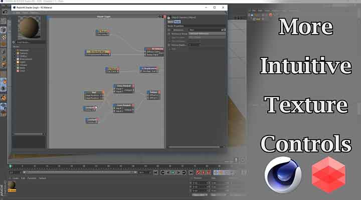 How to Create Intuitive Viewport Texture Controls With Xpresso