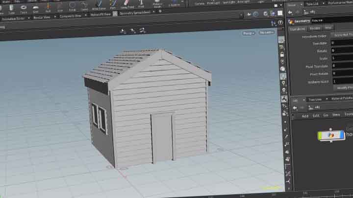 How to Model a Simple House Procedurally in Houdini - Lesterbanks