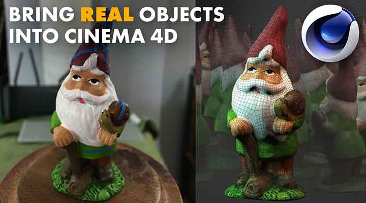 3D Scanning for Cinema 4D From Start to Finish
