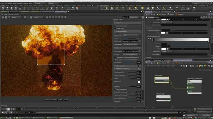 How to Color a Houdini Pyro Sim With Substance Designer