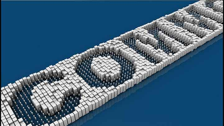 How to Quickly Make a Voxel Title Animation With C4D - Lesterbanks