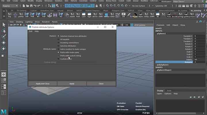 You Can Use Maya Assets to Quickly Share Attributes - Lesterbanks