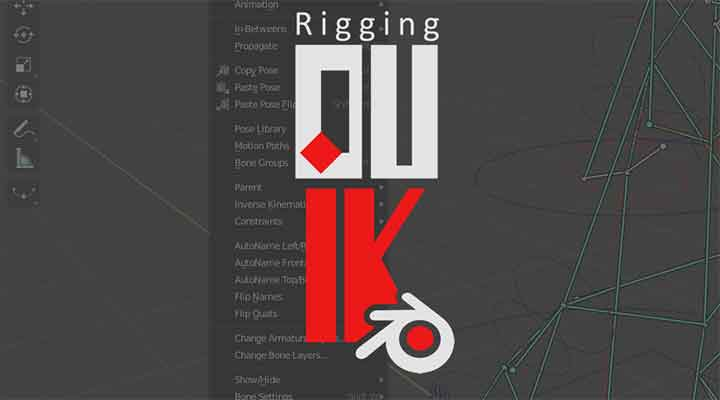 DUIK Rigging Tools Makes its Way to Blender