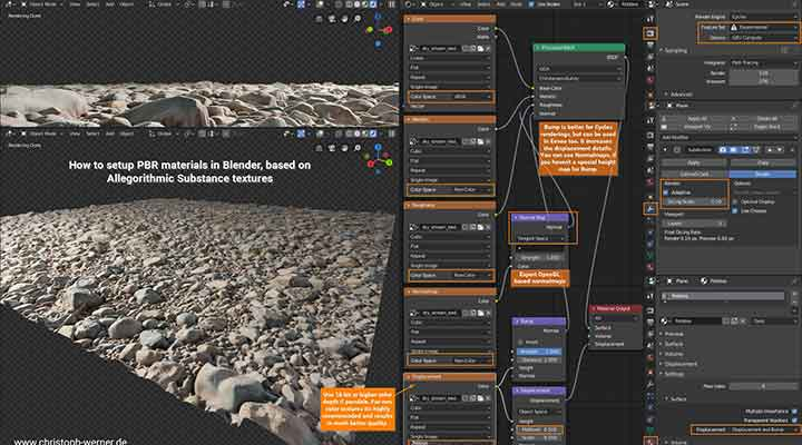 A Guide to Setting Up PBR Materials in Blender