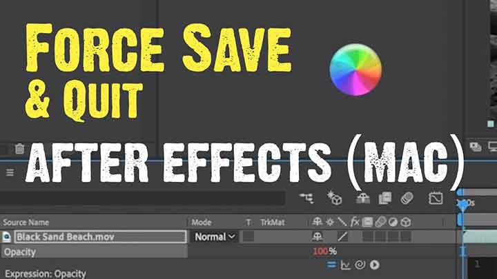 How to Force Ae to Save After Hanging - Lesterbanks