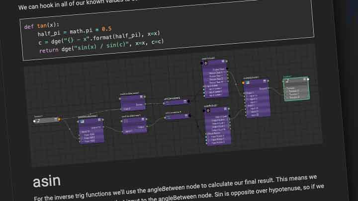 How to Create Trig Functions in Maya Without Third-Party Tools