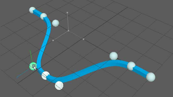 How to Build Splines in Maya Entirely With Matrix Connections