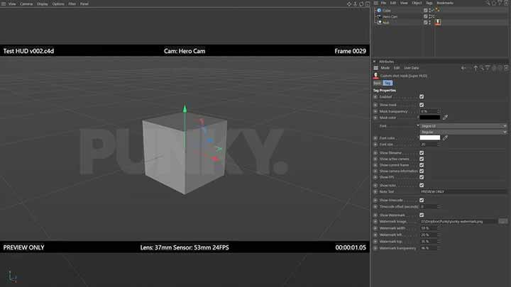 Check out this New Shot Mask for Cinema 4D
