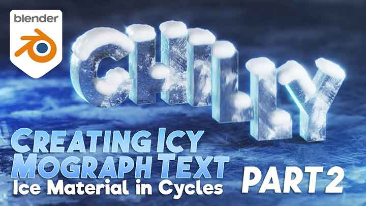 How to Create an Icy Material for Blender Cycles